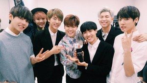 Bangtan Boys take accueil their first win ever on 'The Show'