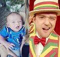 Timberlake and his Baby