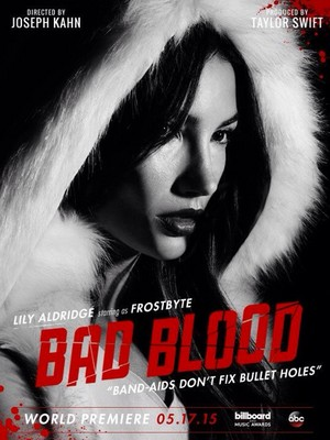 Bad Blood | Lily Aldridge as Frostbyte