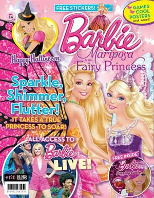 Barbie Magazine Philippines Issue 14 - Mariposa and the Fairy Princess Special
