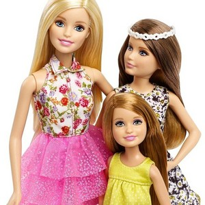 Barbie and Her Sisters: The Great anjing, anak anjing Adventure 3-Pack