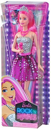 Barbie in Rock'n Royals Courtney Basic Doll