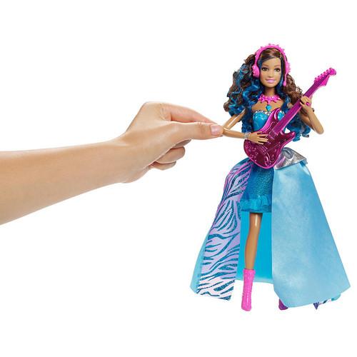 Мультики о Барби Обои entitled Барби in Rock'n Royals Erika Пение Doll