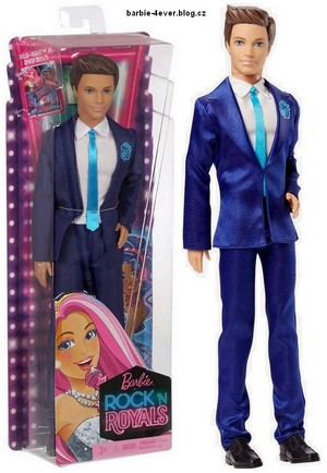 búp bê barbie in Rock'n Royals Ken Doll
