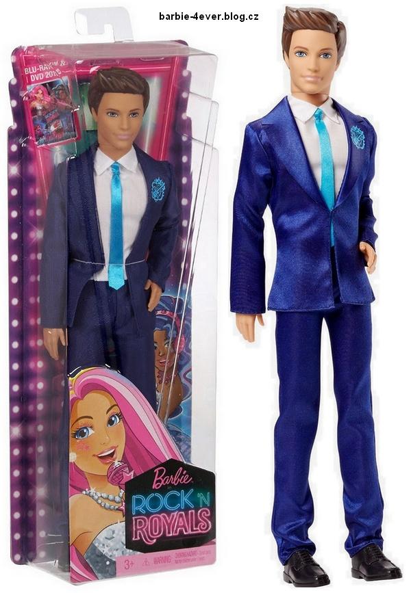 Barbie in Rock'n Royals Ken Doll