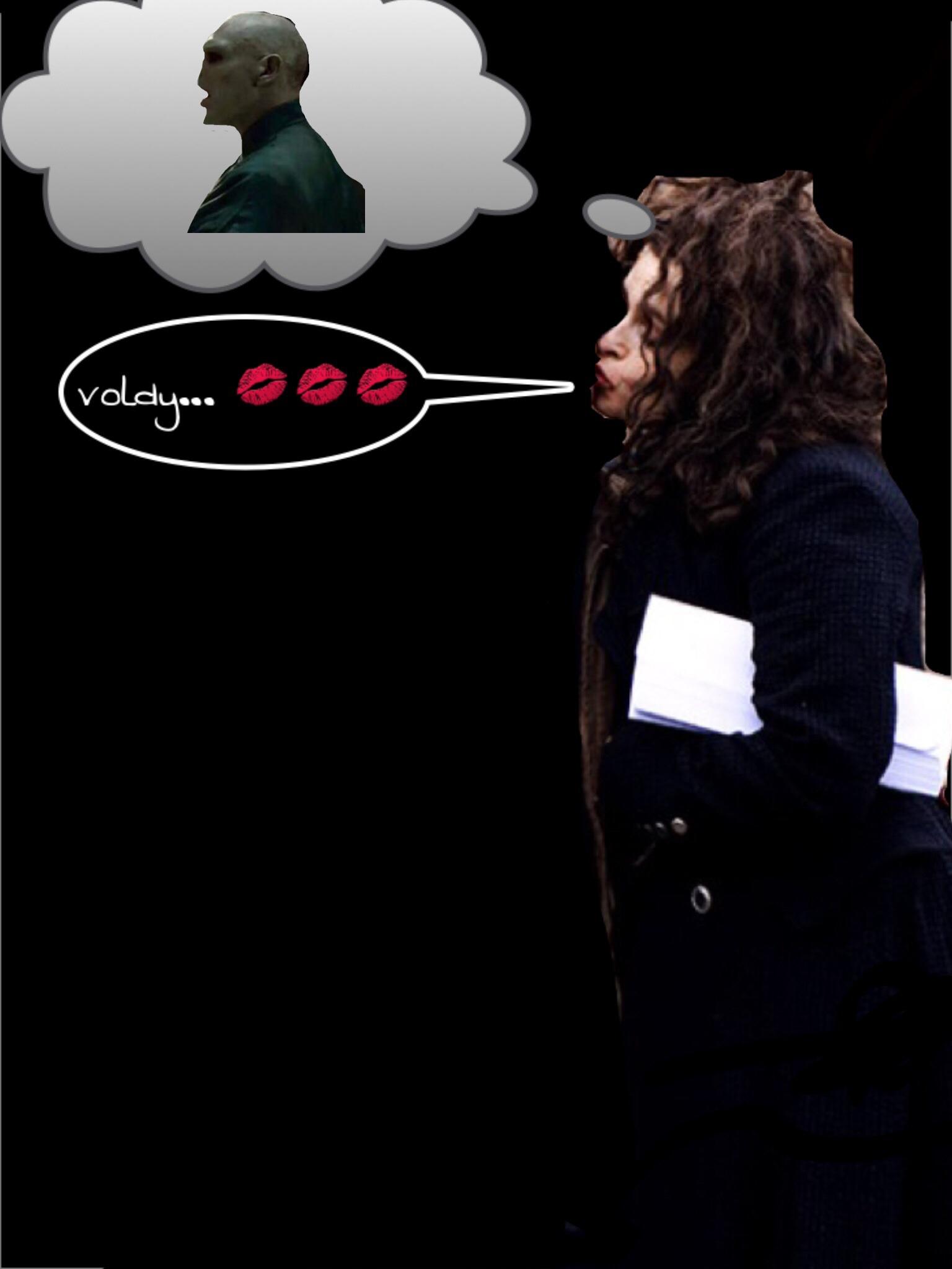 Bellatrix dreaming of voldemort - Harry Potter Fan Art ...