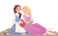 Belle and Rapunzel