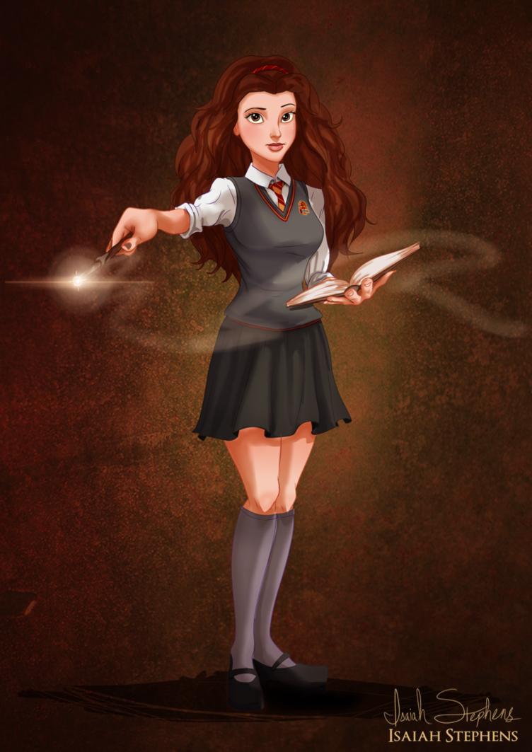 Belle as Hermoine Grainger