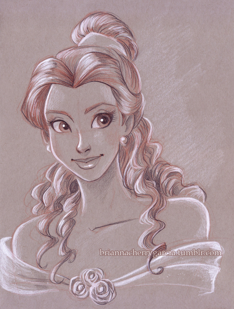 Belle - Beauty and the Beast Fan Art (38425108) - Fanpop