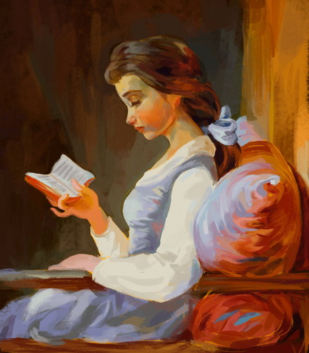 disney Extended Princess wallpaper possibly containing a sign entitled Belle