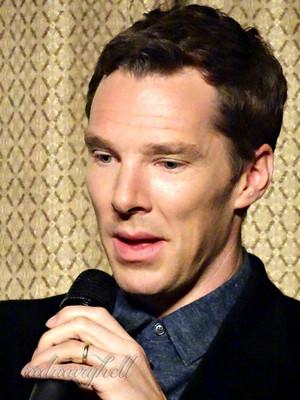 Benedict at Sherlocked Con