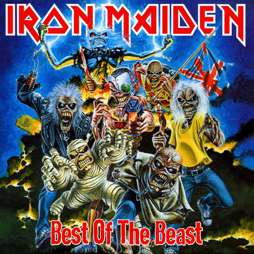 Iron Maiden پیپر وال with عملی حکمت called Best of the Beast