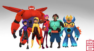 6 Grandes Héroes