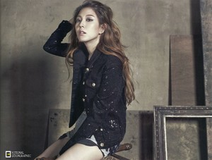 BoA for The Celebrity Magazine May 2015