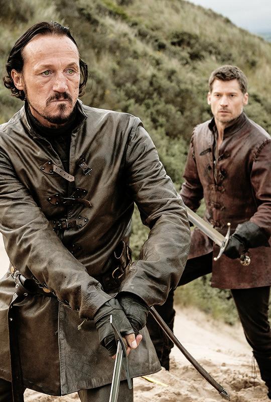 Jaime Lannister & Bronn