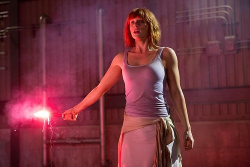 Bryce Dallas Howard پیپر وال probably containing tights, a کاک, کاکٹیل dress, and a chemise titled Bryce Dallas Howard Jurassic World