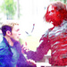 Bucky Vs. Steve - captain-america icon