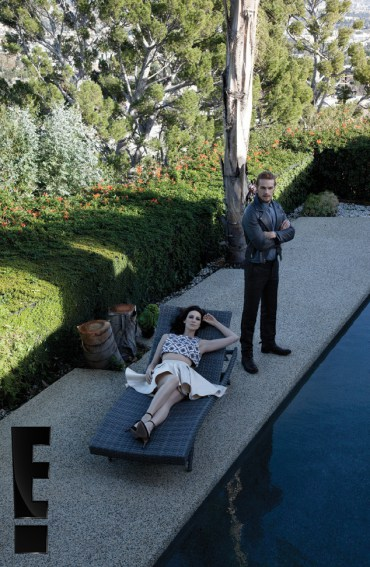 Caitriona Balfe and Sam Heughan on Emmy Magazine Photoshoot