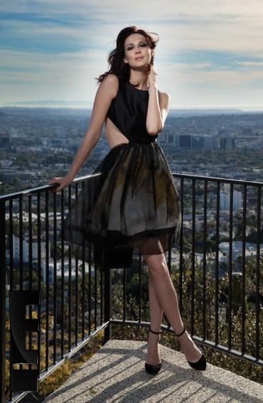 Caitriona Balfe and Sam Heughan on Emmy Magazine Photoshoot