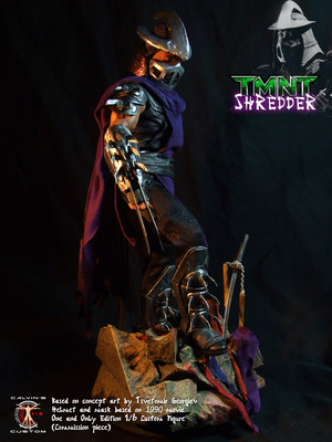 Calvin's Custom 1/6 one sixth scale TMNT Shredder custom figure