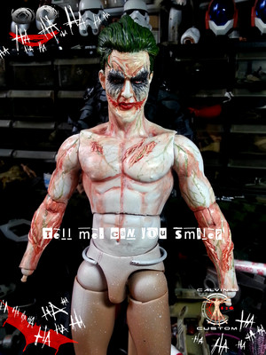 Calvin's Custom one sixth 1:6 scale original Design JOKER