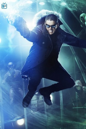 The Flash (CW) Hintergrund entitled Captain Cold Poster