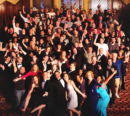 Castle wallpaper possibly containing a concert called Castle-Cast and crew(2015)