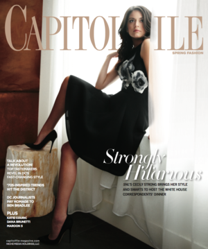 Cecily Strong on the cover of Capitol File - February 2015