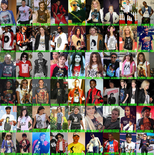 Jay Z wallpaper called Celebrities who wear Michael Jackson shirt King of pop 2015
