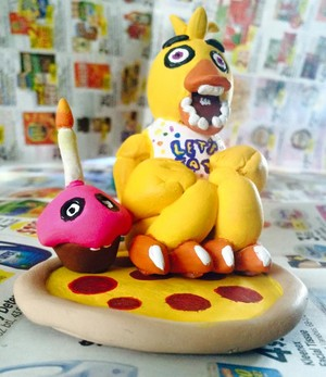 Chica The Clay Chicken