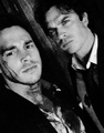 Chris Wood and Ian Somerhalder  - the-vampire-diaries-tv-show photo