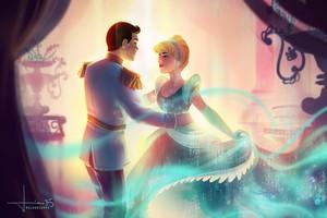 Золушка and Prince Charming