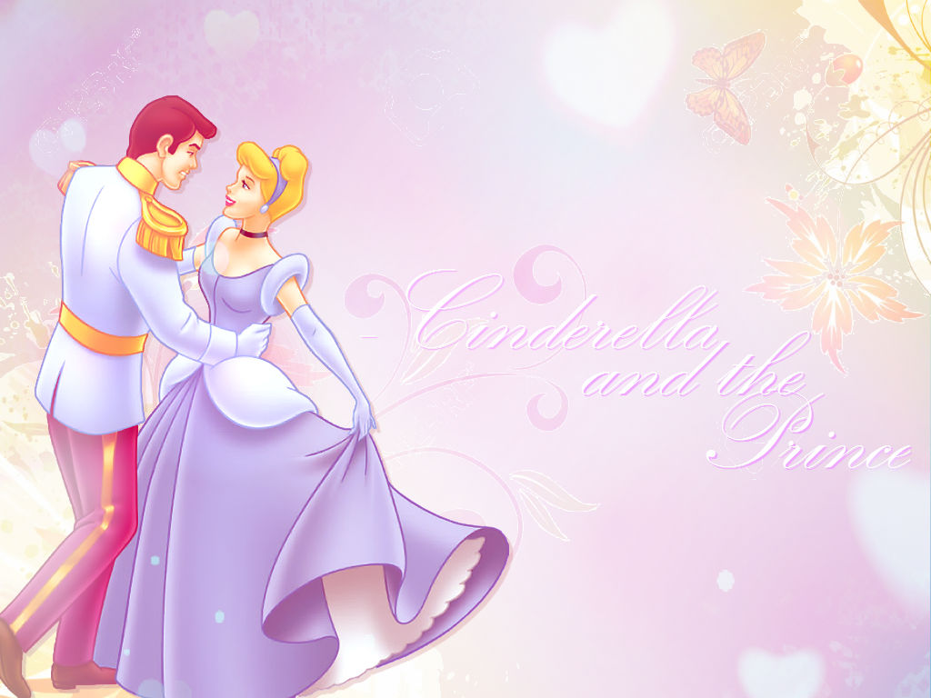 cinderela and the Prince wallpaper