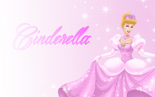 abcjkl or Rimi wallpaper titled Cinderella in pink