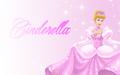cinderella in berwarna merah muda, merah muda
