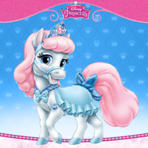 Cinderella's kuda, kuda kecil Bibbidy