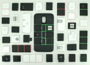 Complete Layout of All The Parts
