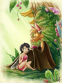 Crysta and Batty - ferngully fan art