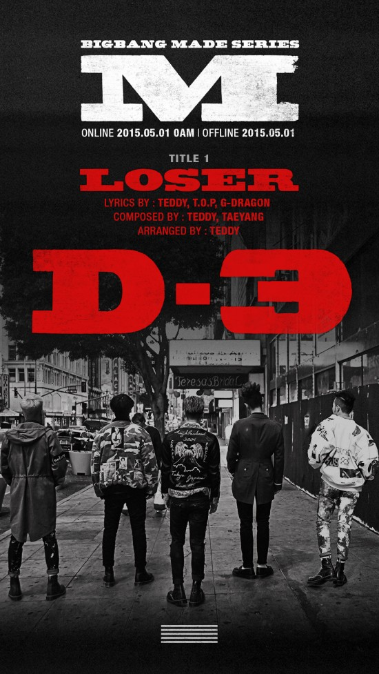 D-3 till ''Loser'' release 150501