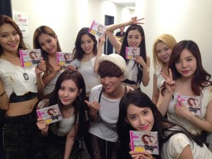 DJ Kaori Uploads Picture with Girls' Generation