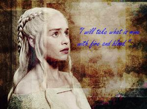 Daenerys sunting