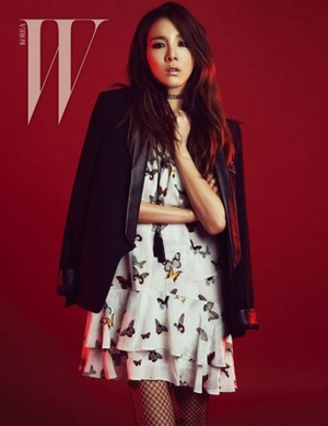 Dara in 'W Korea'