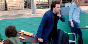David Tennant - Filming Jessica Jones