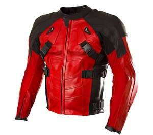 Deadpool motorcycle jacket my own design