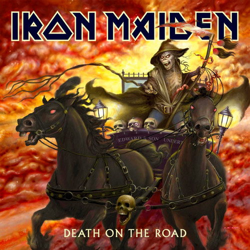 Iron Maiden wallpaper containing anime called Death on the Road