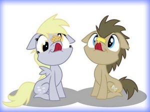 Derry and Doctor Whooves