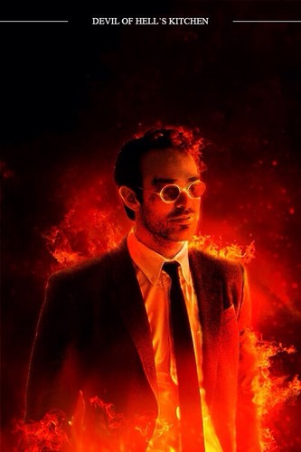 Daredevil (Netflix) 壁紙 with a business suit and a suit called Devil of Hell's キッチン