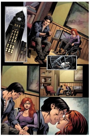 Dick Grayson and Barbara Gordon