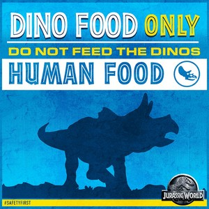 Dino food only