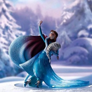 disney A Moment in Time frozen Figurine